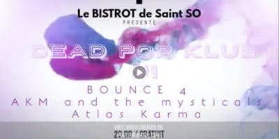 Bounce4 à la Gare Saint Sauveur avec Atlas Karma et Akm and the Mysticals