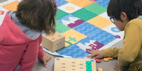 Taller de programación para niños y niñas con bloques de madera - Niños y niñas ( sin adultos) de 5 a 7 años. entradas