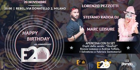 Happy Birthday Radio E20 biglietti