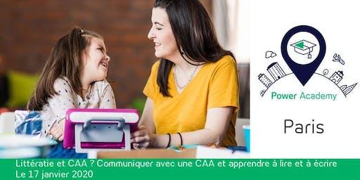 Littératie et CAA ? Communiquer avec une CAA et apprendre à lire et à écrire