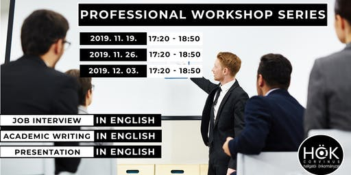 Professional Workshop Series