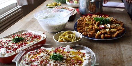 Syrian cookery class with Hanan in Tunbridge Wells (Vegan) tickets