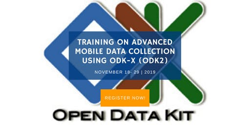 Training on Advanced Mobile Data Collection using ODK-X (ODK2)