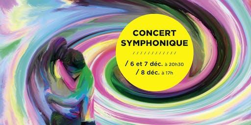 Concert de l'orchestre symphonique