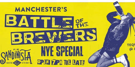 Battle of the Brewers - NYE Special tickets