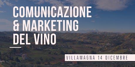 Comunicazione e Marketing del Vino biglietti