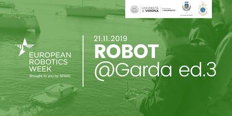 Robot@Garda ed.3 - Settimana Europea della Robotica biglietti