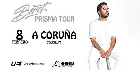 """Beret """"Prisma tour - Coliseum A Coruña entradas"""