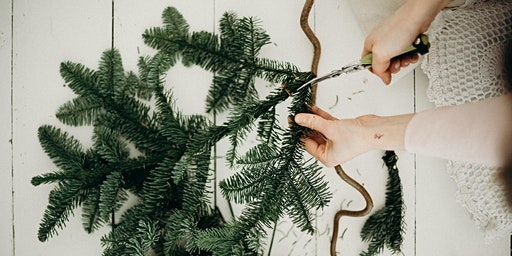 Christmas Willow Wreath Making