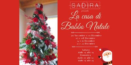 La Casa di Babbo Natale biglietti