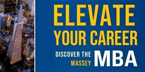 Gain your MBA from Massey University NZ