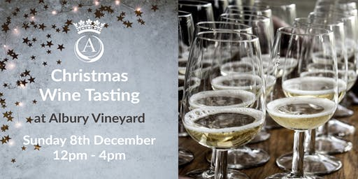 Christmas Wine Tasting at Albury Vineyard