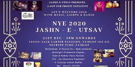 NYE 2020 - JASHN E UTSAV tickets
