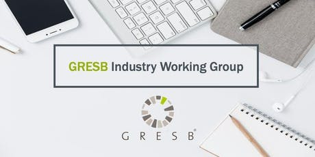 GRESB Resilience Module: Industry Working Group [Option 1] tickets