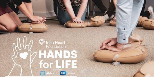 Cavan Colaiste Dun An Ri Kingscourt  - Hands for Life