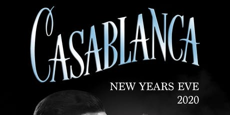 A Casablanca New Years Eve 2020 tickets