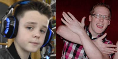 Zak and Young Zak the Gamer 12 Feb (pm) 2020 Canterbury