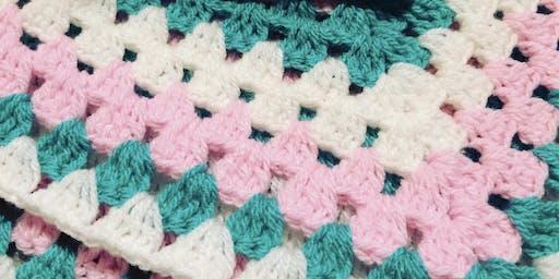Beginners Granny Square Crochet Workshop 22nd Feb 2020