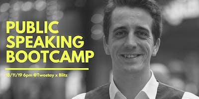 Public Speaking Bootcamp w/Raphael
