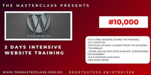 2 Days Intensive Web Master Class