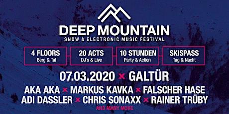 DEEP MOUNTAIN - Snow & Electronic Music Festival tickets