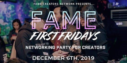 FAME First Fridays 12/6