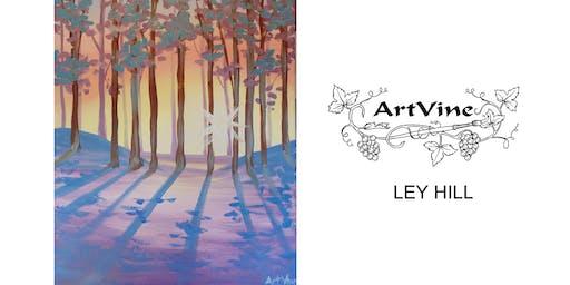 ArtVine, Sip and Paint in Chesham, 23rd January 2020
