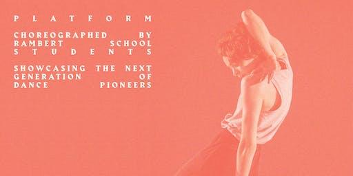 PLATFORM | STUDENT CHOREOGRAPHY 09/12/19