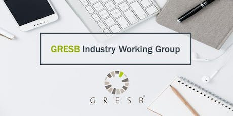 GRESB Resilience Module: Industry Working Group [Option 2] tickets