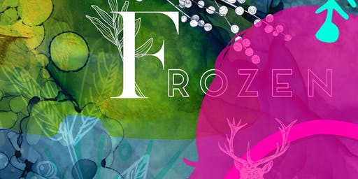 ★  Frozen: The Snow Queen: Framed Mixed Media Art workshop for children