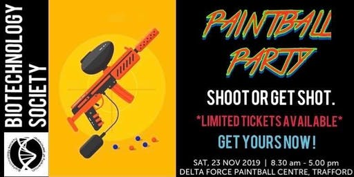 PAINTBALL! with BiotechSoc