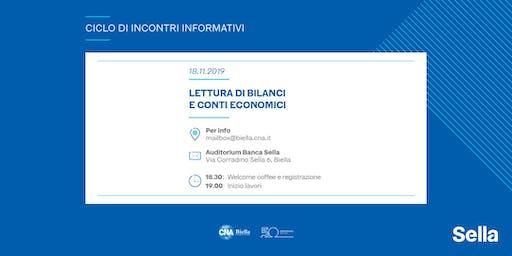CNA Biella e Banca Sella per le imprese: lettura di bilanci e conti economici