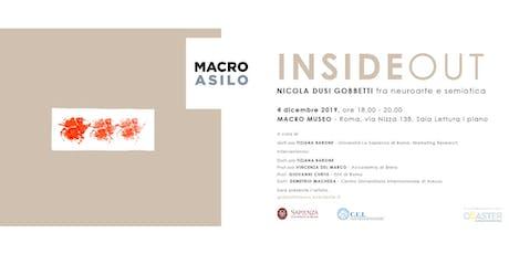 InsideOut - Nicola Dusi Gobbetti fra neuroarte e semiotica biglietti