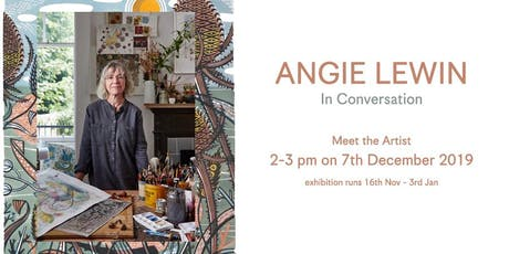 In Conversation with Angie Lewin tickets