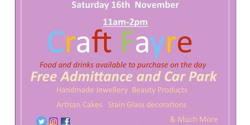 Craft Fayre for Christmas and more