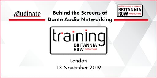 Behind the Screens of Dante Audio Networking with Audinate