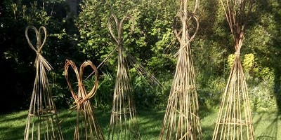 Make a Willow Obelisk for Sweet Peas