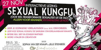 Interactieve lezing SEXUAL KUNGFU  voor Mannen