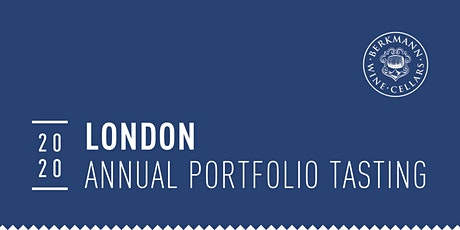 London 2020 Annual Portfolio Tasting tickets