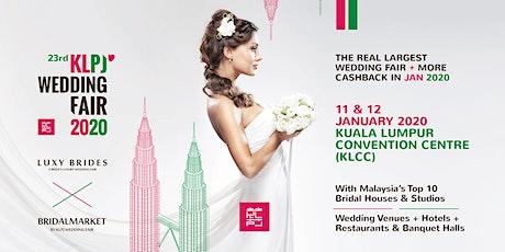 23rd KLPJ Wedding Fair 2020 (JANUARY 2020) Kuala Lumpur Convention Centre tickets