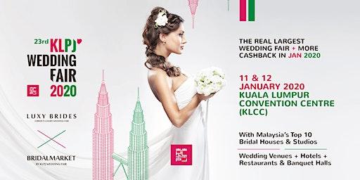 23rd KLPJ Wedding Fair 2020 (JANUARY 2020) Kuala Lumpur Convention Centre