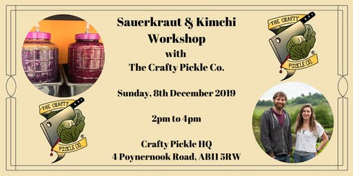 Sauerkraut & Kimchi Master Class with The Crafty Pickle Co.