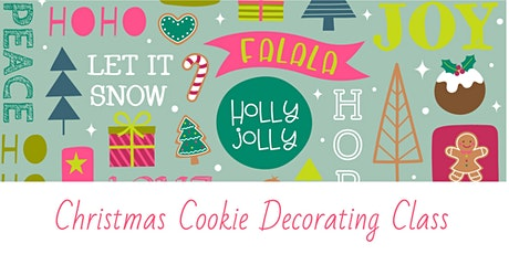 Christmas Cookie Decorating Class tickets