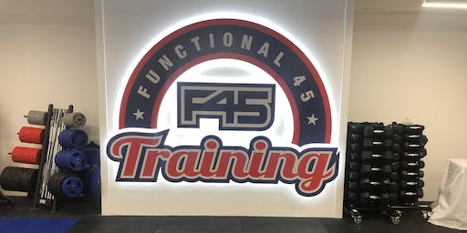 F45 Glasgow Central Grand Opening Party
