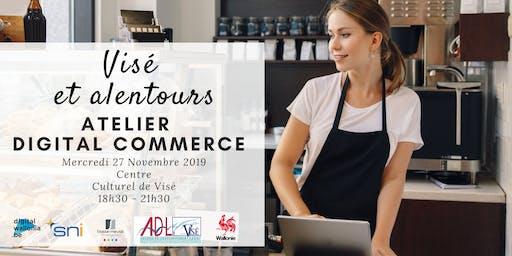 Visé et et alentours  | Atelier Digital Commerce