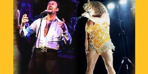 Tina Turner and Tom Jones