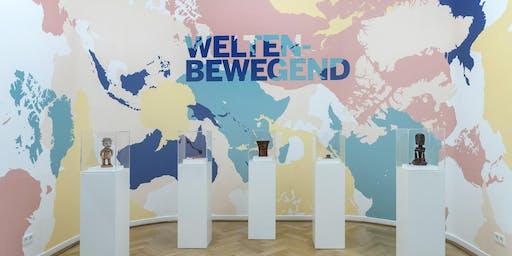 """Kulturgruppe: """"Weltenbewegend"""" mit Führung & Batikworkshop"""