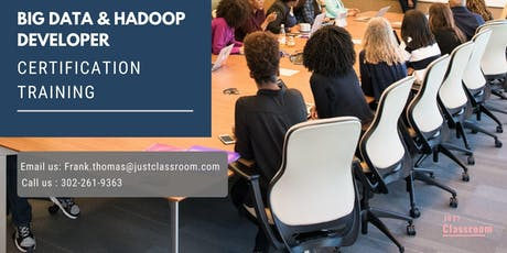 Big Data and Hadoop Developer 4 Days Certification Training in Fort McMurray, AB tickets