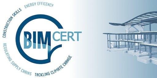 BIMcert – Digital Skills to Reduce the Energy Footprint in the Build Enviro