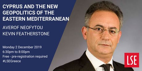 Public Lecture: Cyprus and the New Geopolitics of the Eastern Mediterranean tickets